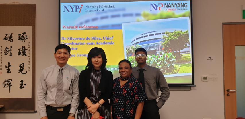 BPI and NYP, Singapore Likely to Collaborate